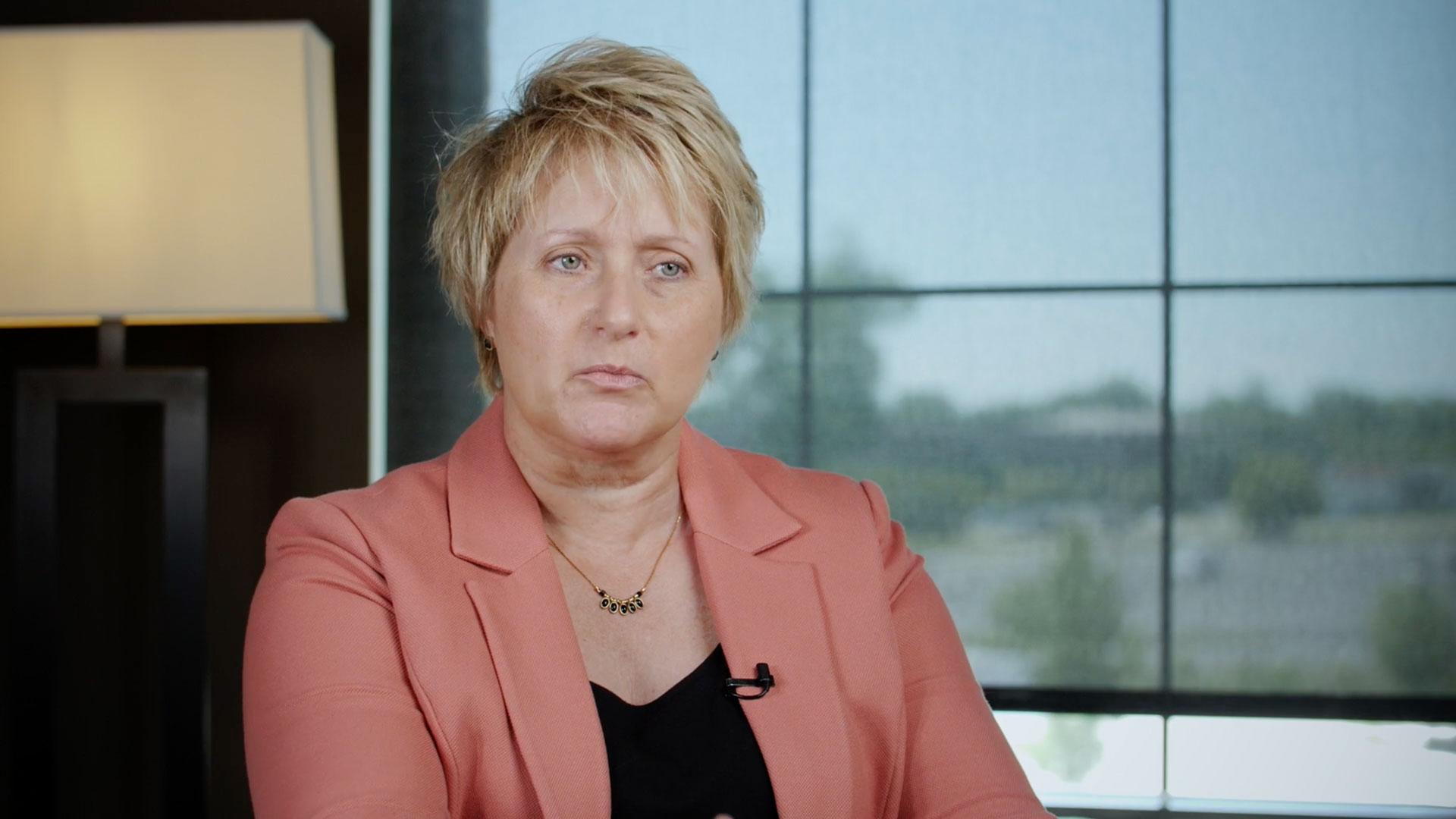 Geanie Umberger, executive director of Purdue Cyber Apprenticeship Program